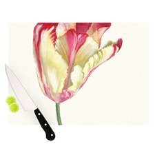 Red Tip Tulip Cutting Board