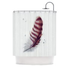 The Feather Polyester Shower Curtain