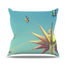 Flying Chairs Throw Pillow