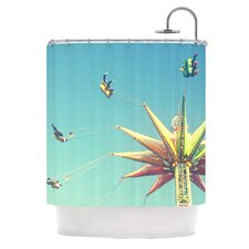 Flying Chairs Polyester Shower Curtain