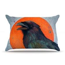 Raven Sun Pillow Case