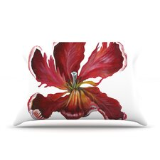 Open Tulip Pillow Case