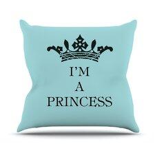 Im A Princess Throw Pillow