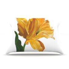 Yellow Tulip Pillow Case