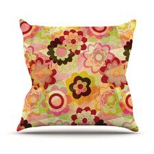 Colorful Mix Throw Pillow