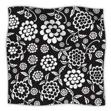 Cherry Floral Microfiber Fleece Throw Blanket