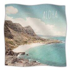 Aloha Microfiber Fleece Throw Blanket