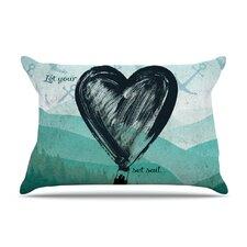 Heart Set Sail Pillow Case