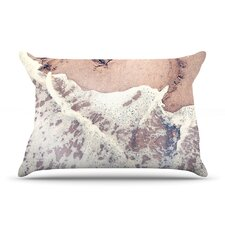 Heart in The Sand Pillow Case