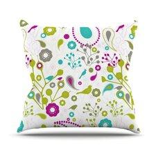 Bird Fantasy Throw Pillow