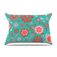 Cherry Floral Pillow Case