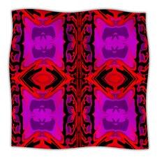 Ornamena Microfiber Fleece Throw Blanket