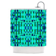 Verdiga Polyester Shower Curtain