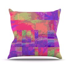 Embossed Impermenance Throw Pillow