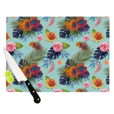 Tropical Floral Cutting Board