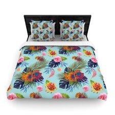 Tropical Floral Duvet Cover