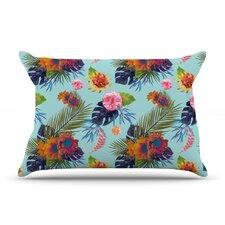 Tropical Floral Pillow Case
