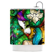 Nola Polyester Shower Curtain