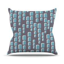 Cubic Geek Chic Throw Pillow