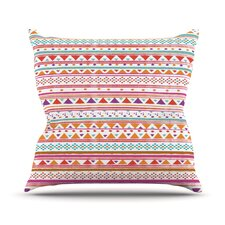 Native Bandana Outdoor Throw Pillow