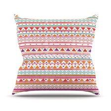 Native Bandana Throw Pillow