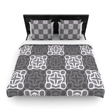 Granny Goes Modern Duvet Cover
