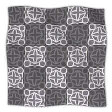 Granny Goes Modern Microfiber Fleece Throw Blanket