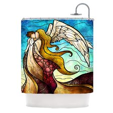 In The Arms Of The Angel Polyester Shower Curtain