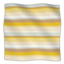 Desert Stripes Fleece Throw Blanket