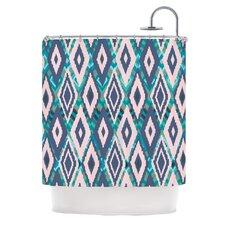 Tribal Ikat Shower Curtain