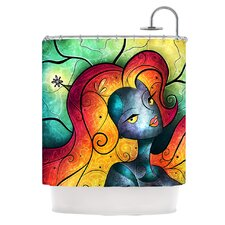Andromeda Polyester Shower Curtain