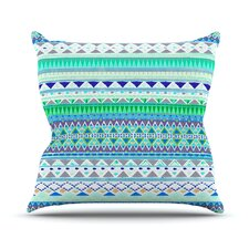 Emerald Chenoa Throw Pillow