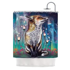 There is a Light Polyester Shower Curtain