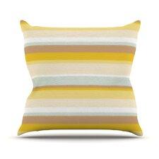 Desert Stripes Throw Pillow