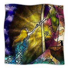 Fairy Tale Off To Neverland Microfiber Fleece Throw Blanket