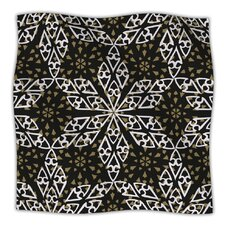 Ethnical Snowflakes Microfiber Fleece Throw Blanket