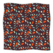 Retro Tile Microfiber Fleece Throw Blanket