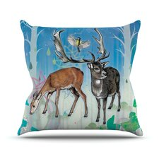 Glade Throw Pillow