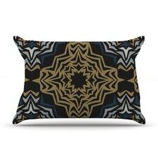 Golden Fractals Pillow Case