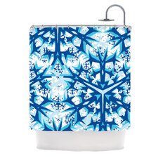 Winter Mountains Polyester Shower Curtain