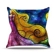 Starry Lights Throw Pillow