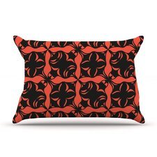 Oval Orange Love Pillow Case