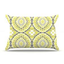 Yellow Tessellation Pillow Case
