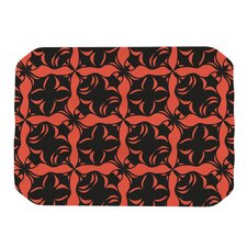 Oval Orange Love Placemat