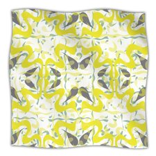 Azulejos Microfiber Fleece Throw Blanket