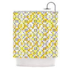 Effloresco Polyester Shower Curtain