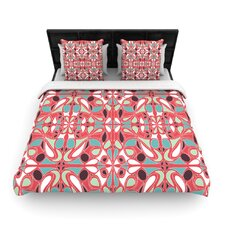 Stained Glass Pink Duvet Cover Collection