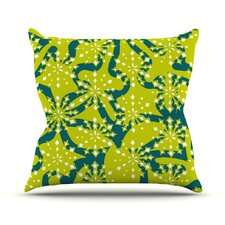 Festive Splash Throw Pillow