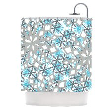 Chilly Polyester Shower Curtain