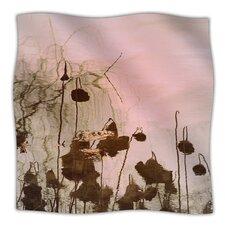 Lotus Dream Microfiber Fleece Throw Blanket